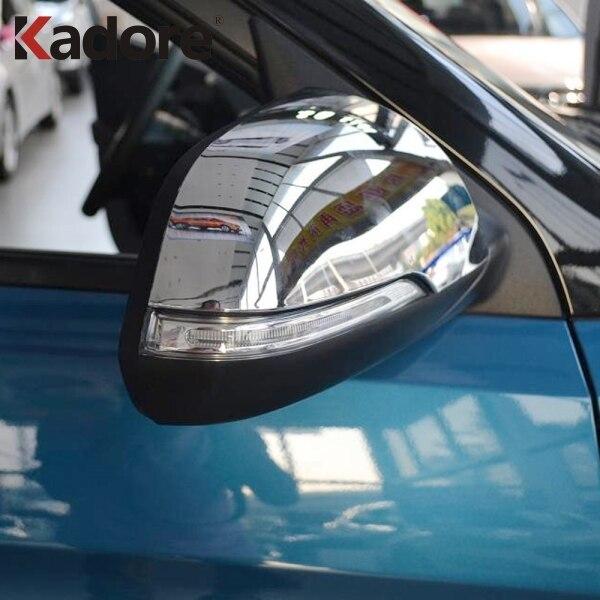 For Hyundai Cantus Creta ix25 2014 2015 2016 2017 2018 2019 Chromed Door Rearview Mirror Cover Trims Car Exterior Accessories