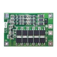 3S 40A per Cacciavite 12V Li-Ion 18650 Bms Pcm Bordo di Protezione Della Batteria Bms Pcm con Equilibrio Liion Batteria cellulare Pacchetto Modulo