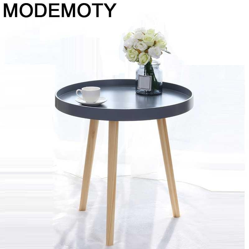 Tisch Tafelkleed-Mesita Auxiliar De Centro De salón, minimalistas, pequeña, silla Kawowy, Mesa...