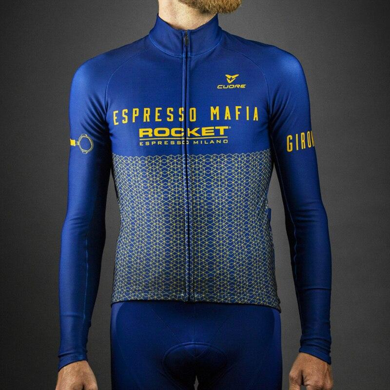 De calidad superior Pro térmico polar manga larga Jersey Ciclismo 2020 Maillot...