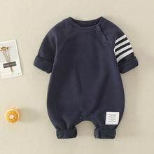 YG brand baby Jumpsuit fashion clothing boys long climbing clothes round neck long sleeve children's