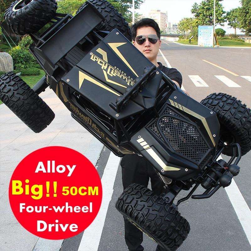 Coche a Control remoto 4WD versión actualizada 112 18, coche a Control de Radio de 2,4G, juguetes todoterreno de gran tamaño para Camiones de alta velocidad, regalo para niños