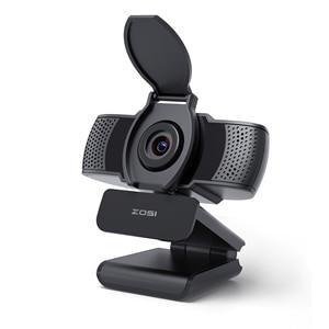ZOSI 1080P HD Mini Webcam Video Camera for PC Computer Laptop Mac with USB Plug