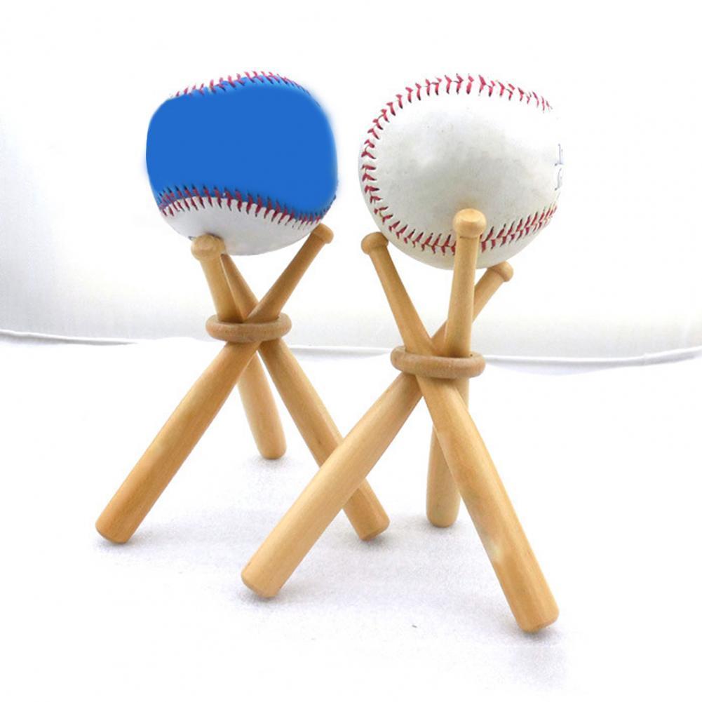 Экологичная креативная бейсбольная бита, 1 комплект, стойка-держатель, прочная бейсбольная подставка, отличный подарок