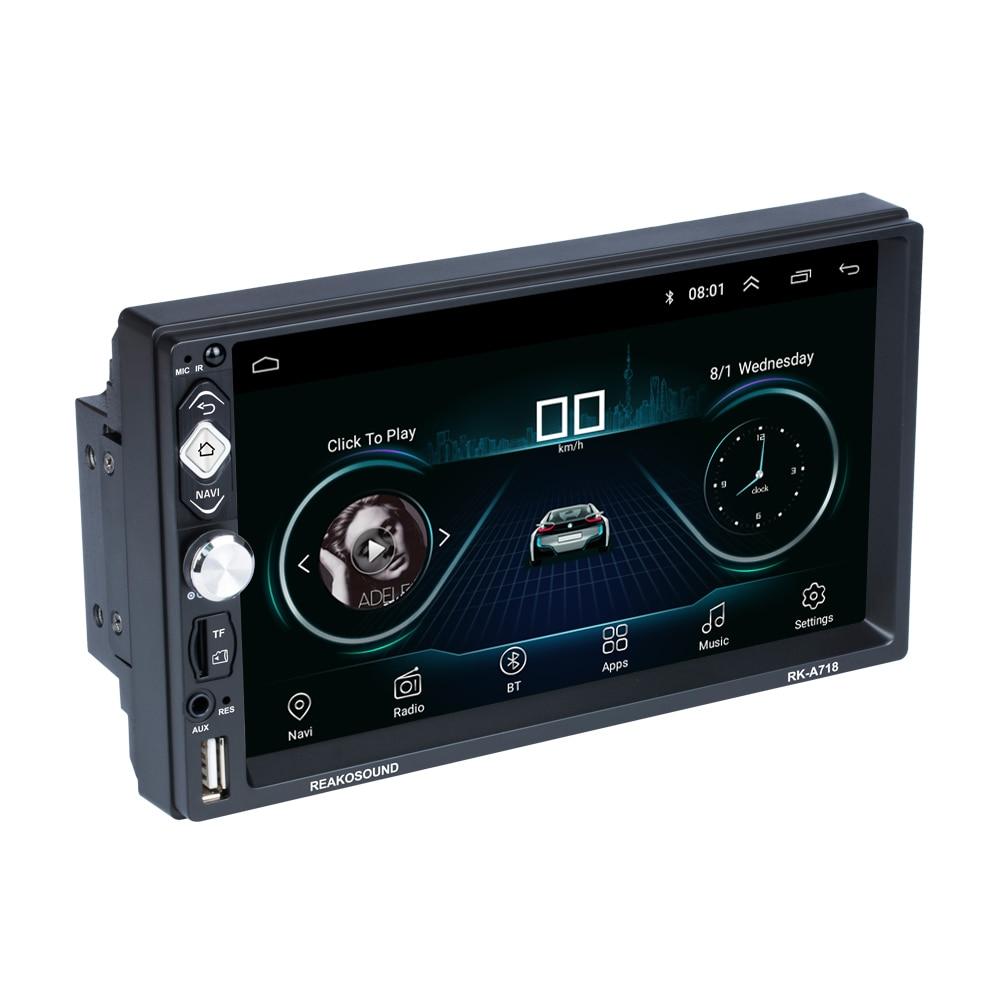 "2 Din Android 8.1  7""  Car Radio GPS  MP5 Player  autoradio For Nissan TOYOTA Kia Honda Volkswagen Hyundai"