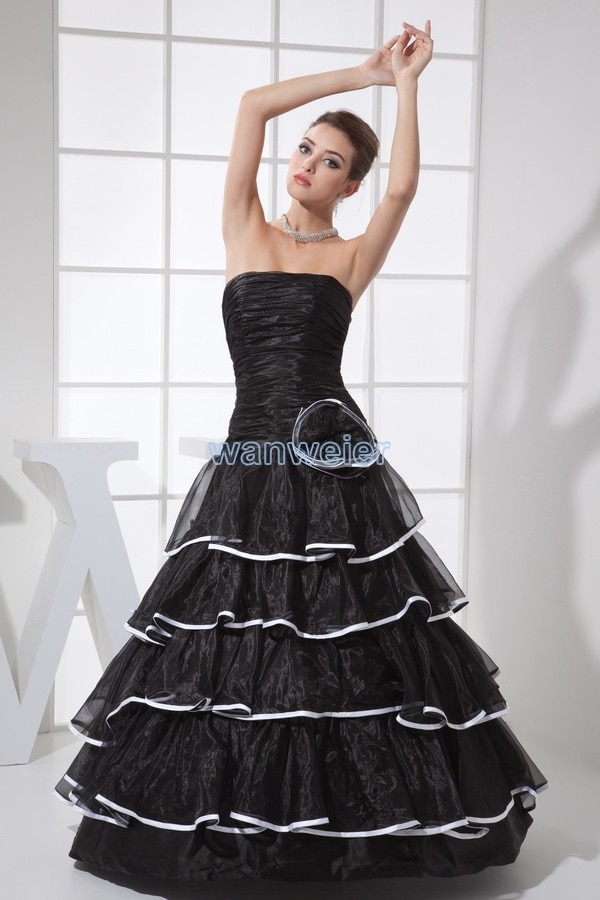 Vestido nuevo asequible vestido de novia diseñadores de encargo hecho a mano de la bola vestidos de negro de lujo 2020 foto real vestidos de quinceañera