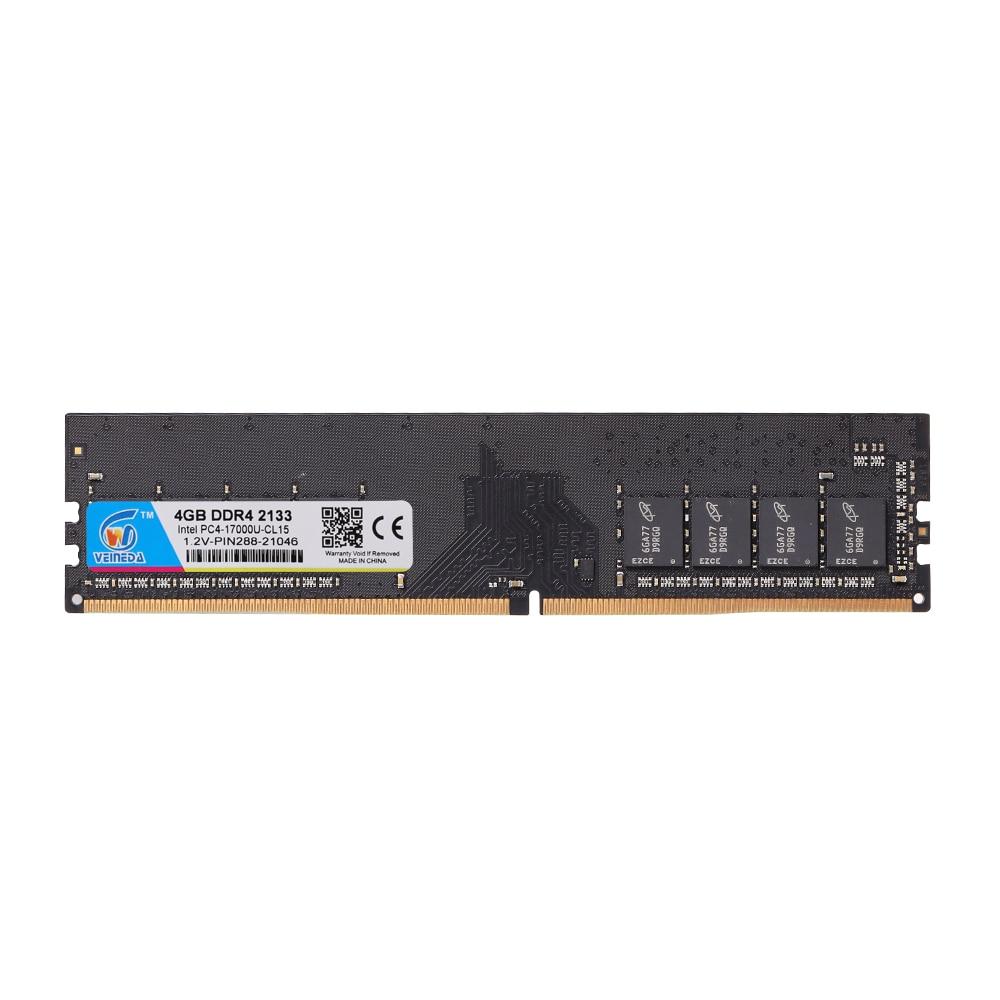 VEINEDA ddr4 8 gb الكمبيوتر ذاكرة عشوائية RAM ميموري وحدة الكمبيوتر سطح المكتب DDR4 PC4 2666Mhz DIMM 3200MHZ للوحة الأم AMD