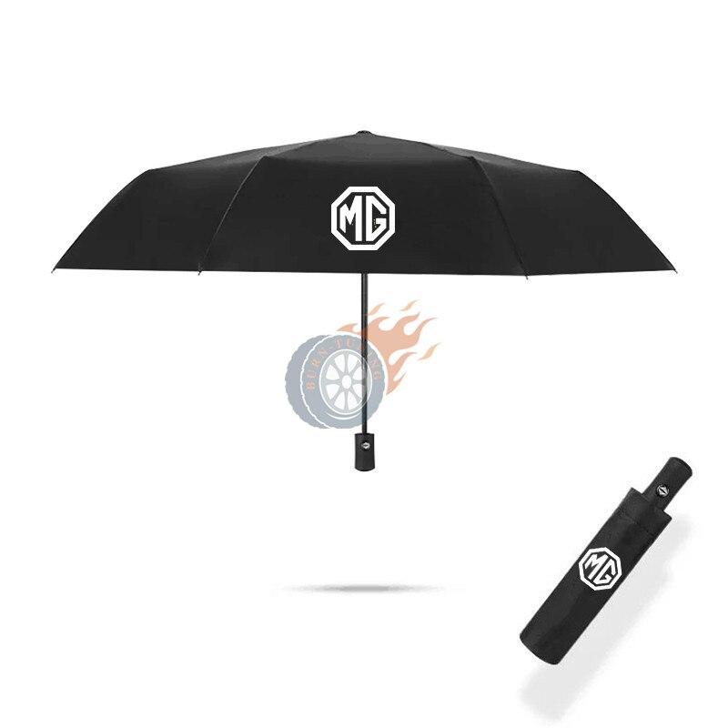 1X التلقائي مظلة قابلة للطي ل MG MG3 5 6 7 TF ZR ZS HS GS GT سيدان SUV UV ظلة يندبروف مقاوم للماء اكسسوارات السيارات