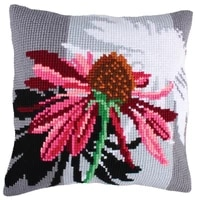 latch hook cushion kits ball pillows cover wedding flower home decoration unfinished pillow case kits for embroidery