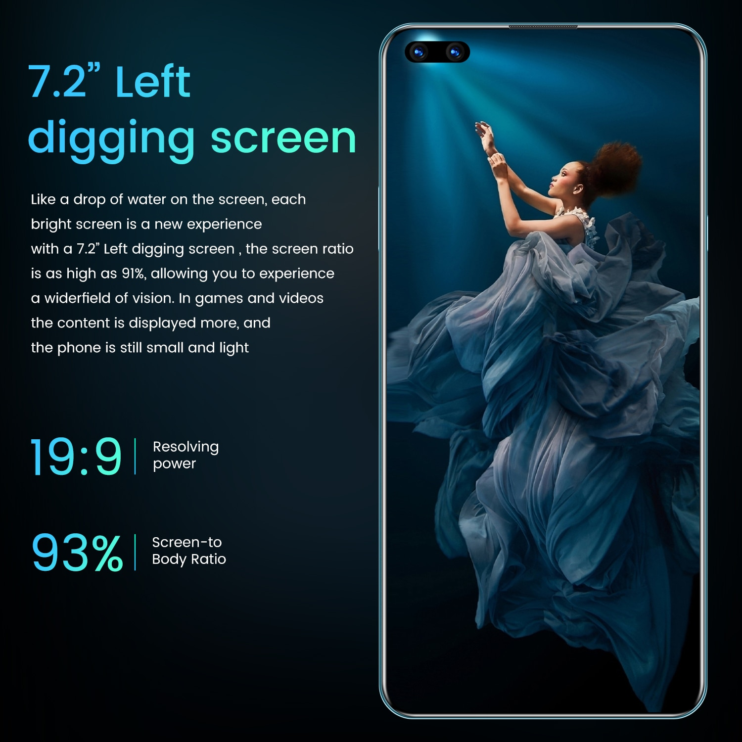 Global Version Celulare Mate45 Pro+ 7.2Inch Smartphone Full Screen Octa Core 24MP+48MP 12GB 512GB 4G LTE 5G Network Mobile Phone enlarge