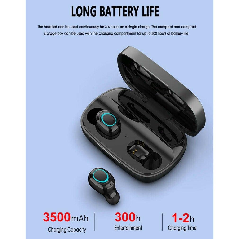 S11 Wireless Earphone Mini Sport In-ear Headset Stereo Handsfree Noise Cancelling Earphones With Charging Box
