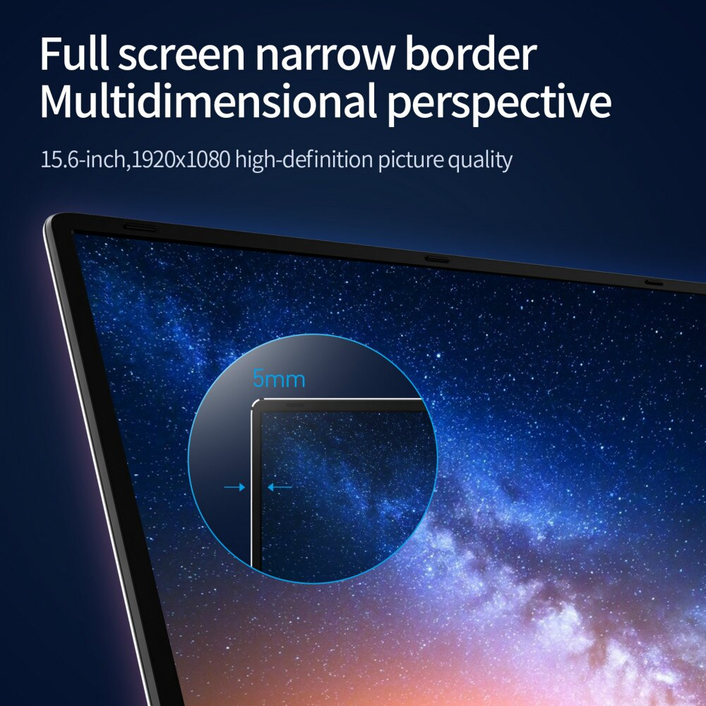 Newest Laptop 15.6'' J4125 12G RAM Windows 10 Pro Notebook IPS Business PC Computer Laser Engraving Your Language SSD Netbook