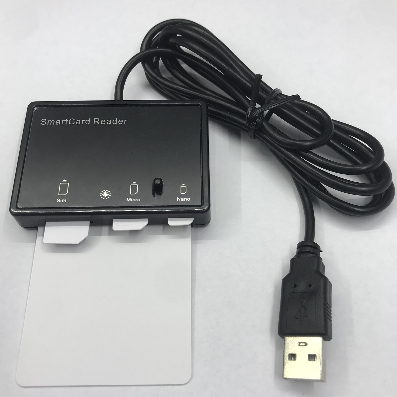 OYEITIMES 3PCS Programmable 5G NR 3GPP R16 5G SA/NSA ISIM Card Blank 5G ISIM Cards + MCR3516 Card Reader+4.2.5 Personalize Tools enlarge