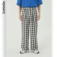 new product plaid loose casual pants men m3 ar k17