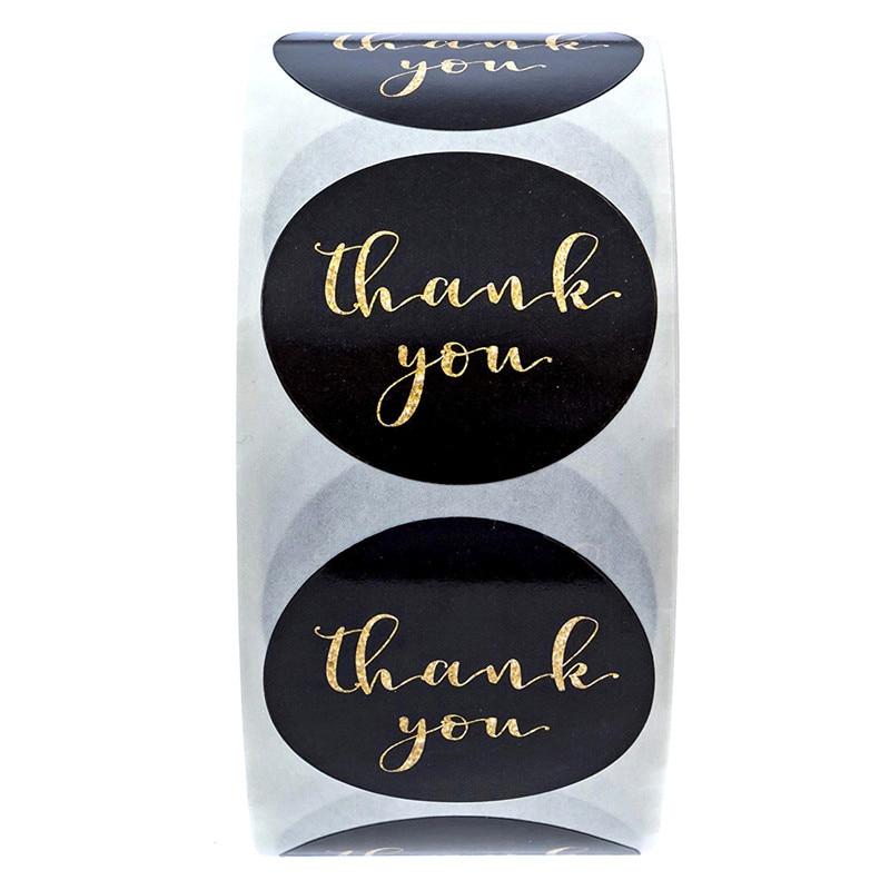 50-500-uds-papel-de-aluminio-dorado-gracias-pegatina-album-de-recortes-para-sello-de-sobres-etiquetas-adhesivas-fondo-blanco-rosa-adhesivo-de-papeleria