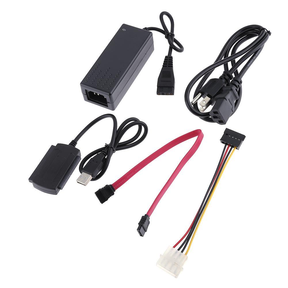 Usb à linha de cabo de porta paralela serial de sata ide para 2.5/3.5 polegadas disco rígido para 44 pinos ide/80pin pata disco rígido