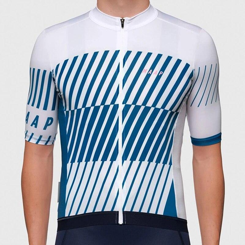 Maap-Camiseta de Manga corta para ciclismo, maillot de Manga corta para bicicleta...