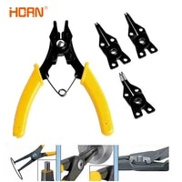 4pcsset high quality circlip pliers set diy snap ring combination retaining clip jewelry pliers internal external ring remover