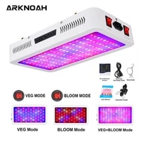 arknoah led grow light full spectrum 1200w 1500w 2000w double chip redblueuvir grow lamps for indoor plants veg bloom