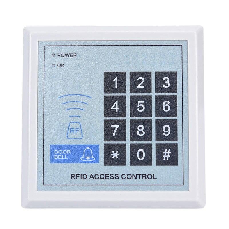 Sistema de controle acesso rfid dispositivo máquina segurança proximidade fechadura da porta entrada alta qualidade