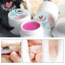 Żel Gelfavor do przedłużania paznokci Builder Poly Gel zestaw do Manicure podkład podstawowy półtrwały żel do paznokci UV polyGel