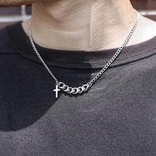 Подвеска в виде креста Trendsmax, уникальная подвеска в виде креста, ожерелье для мужчин и женщин, цепь из нержавеющей стали, 18 дюймов + 2 дюйма, Уд...
