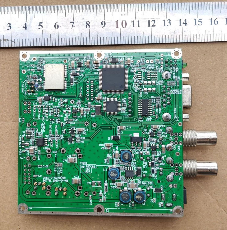 Por BG7TBL, reloj de rubidium con onda sinusoidal de 10MHz, GPS, soporte BDS/GLONASS/pandora, salida 1PPS onda cuadrada