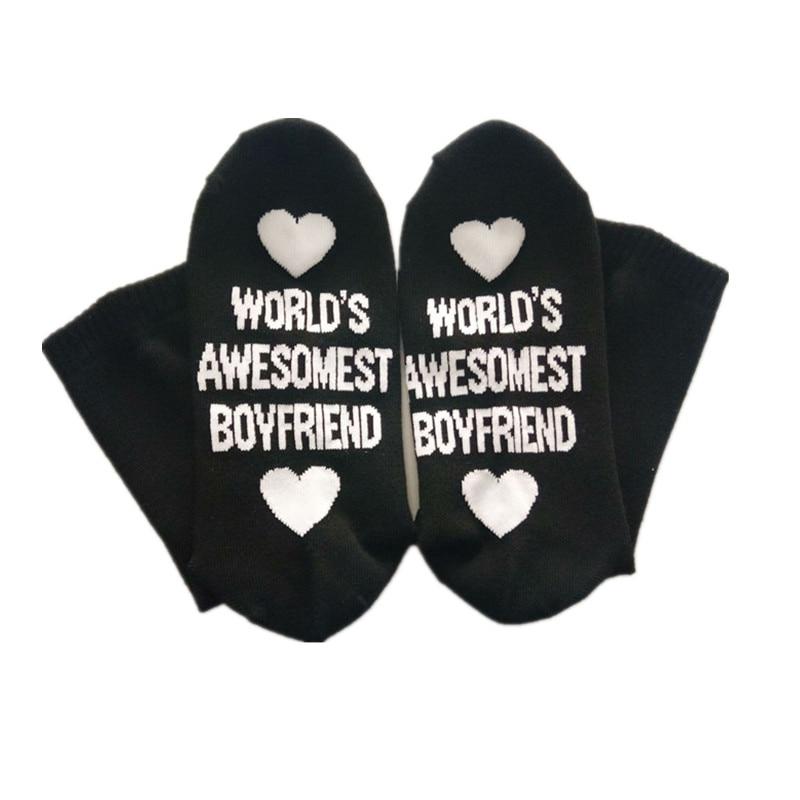 2 uds. Regalo de cumpleaños para novio novia calcetines de algodón amor aniversario regalo Regalos de fiesta y boda Regalos para invitados