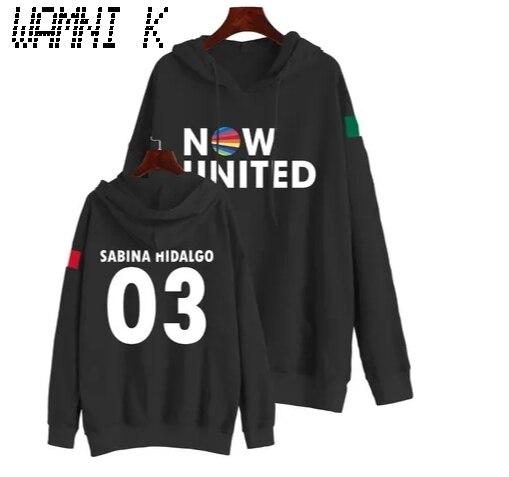 Wamni 2020 agora united hoodie sweatshirts das mulheres dos homens sabina hidalgo 03 pulôver unissex harajuku tracksui
