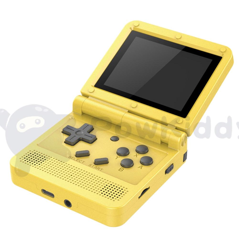 64bit ips tela adultos crianças handheld console de jogos display lcd mini 3.0 visão completa hd ips tela dura portátil presente