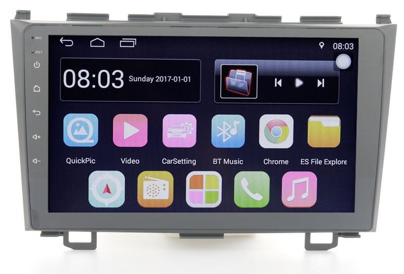 "10,1 ""Quad core 2.5D IPS pantalla Android coche GPS navegación para Honda CR-V 2007-2011 con 4G/Wifi/DVR OBD enlace espejo"