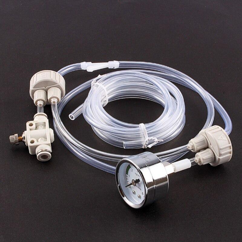 Dropship 1 Set DIY Planted Fish Co2 difusores reguladores acuario accesorios sistema válvula manómetro Kit para D201/D301/ d501