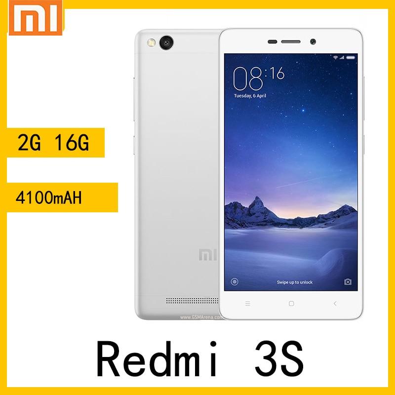 شاومي ريدمي 3S الهاتف الذكي 2g 16g بوصة 5.0 4100mAh الهاتف الذكي