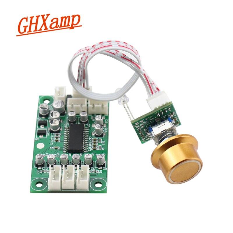 PREAMPLIFICADOR de panel de Control de tono GHXAMP DC12V (volumen + agudos + Tono de bajo + interruptores de entrada de Audio de 3 vías) control Digital
