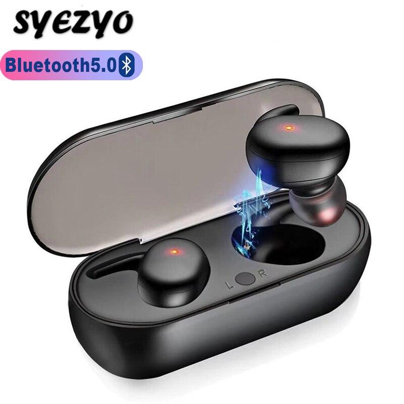 Tws4 bluetooth fones de ouvido à prova dwaterproof água esportes mini negócios fone toque chave sem fio para huawei xiaomi iphone