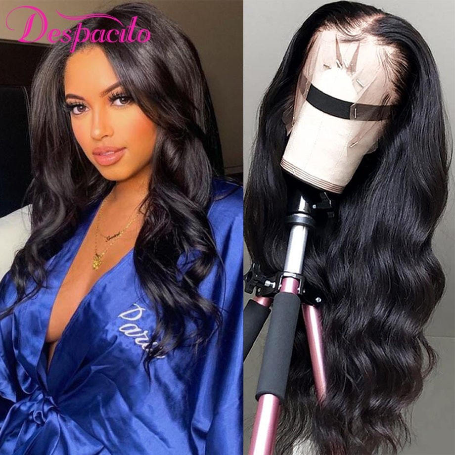 Body Wave 13x4 Lace Front Human Hair Wigs For Women Brazilian Long Wig Remy Hair 13x1 T Part Lace Frontal Cheap Wig Pre Plucked