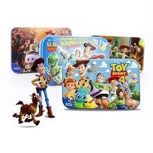 Véritable Disney Pixar jouet histoire 4 60 tranche petite pièce Puzzle jouet enfants en bois Puzzles jouet pour enfants cadeau danniversaire