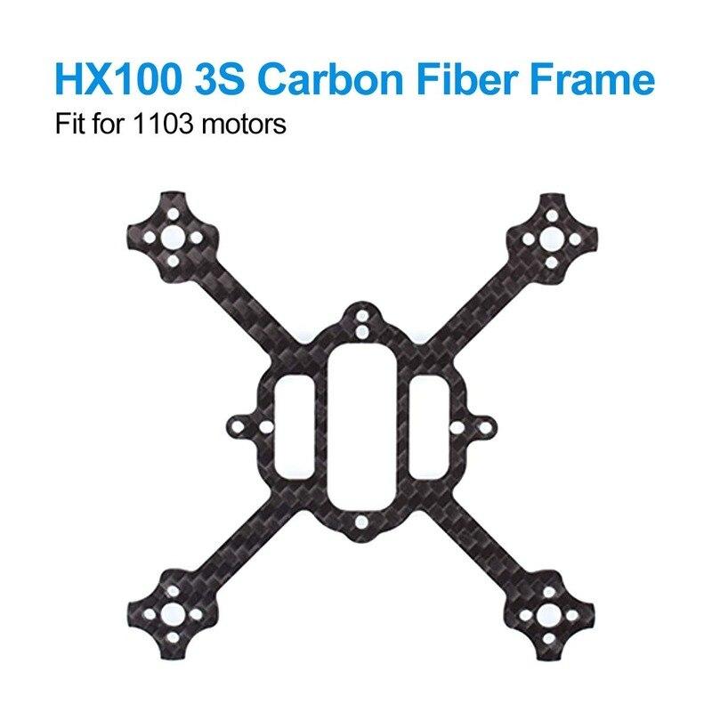 BETAFPV HX 100 Mini FPV Racing Zahnstocher Rahmen von Carbon Faser 100mm für HX 100 3S Bürstenlosen Racing whoop Zahnstocher Carbon Faser