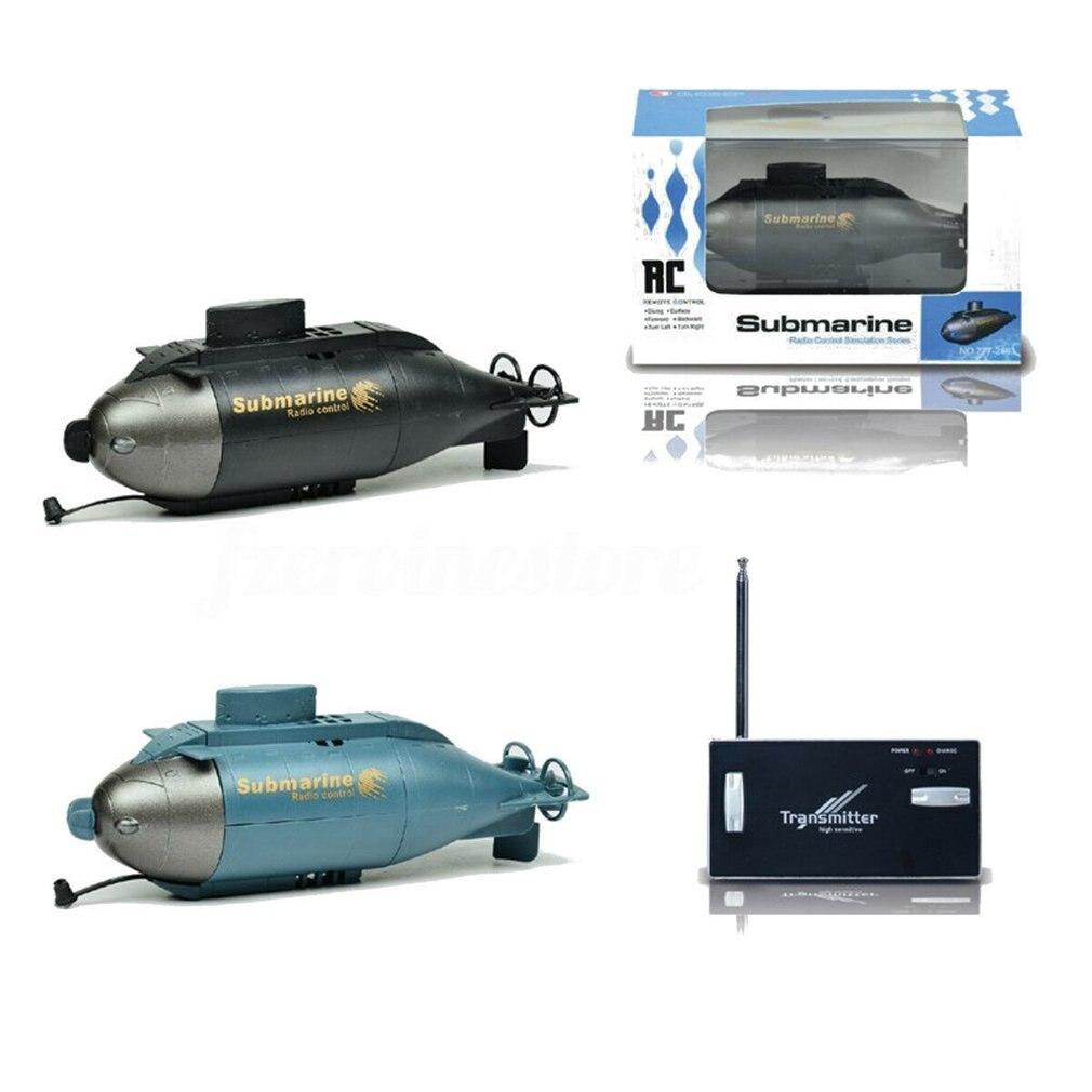 777 - 216 Barco de juguete para regalo, totalmente funcional, inalámbrico, con forma de pez Torpedo, 40MHz, RC, submarino