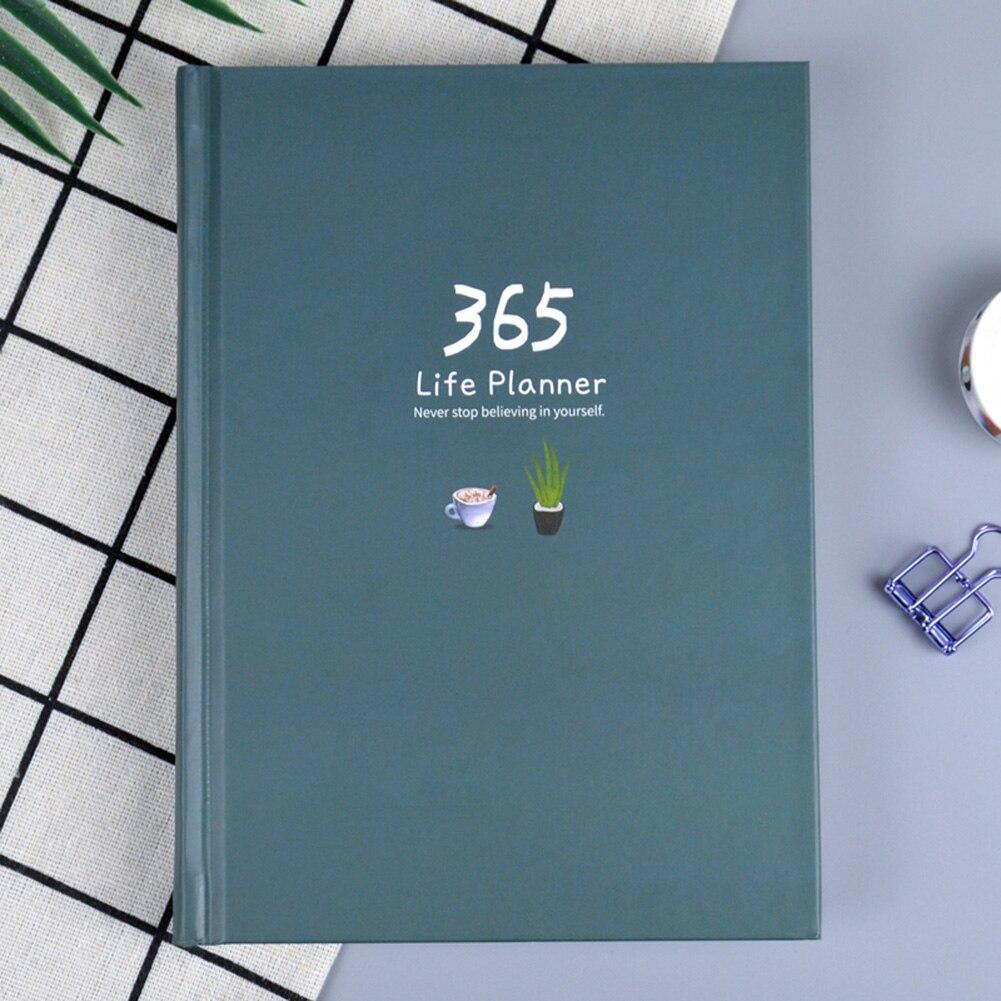 Schreibwaren Notebook 365 Planer A5 Wöchentlich Monatlich Täglichen Planer Notebooks Zeitschriften Schule Liefert 13,5*18,2 cm