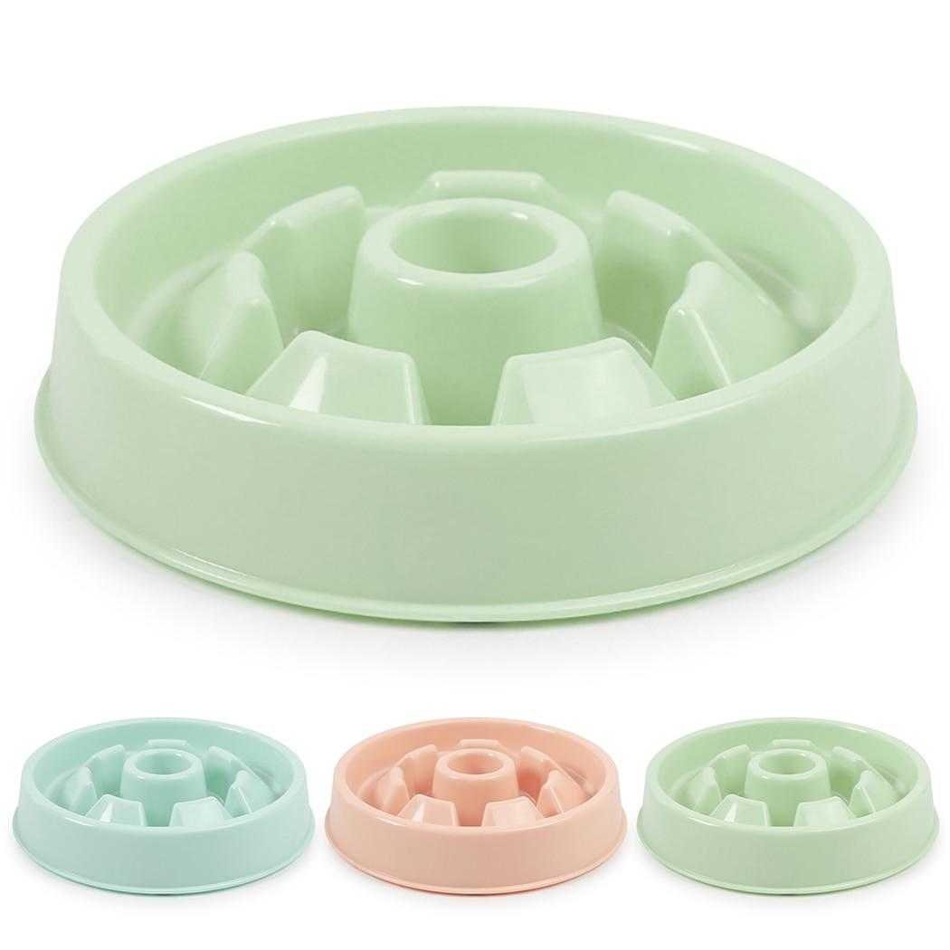 Legendog Creative Candy Color Pet Bowl Anti-Gulping Non-Slip Pet Slow Feeder Pet Feeding Bowl For Cat Dog Pet Feeding Supplies