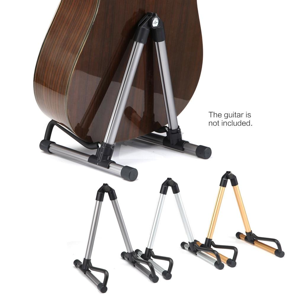 Универсальный складной легкий портативный гитарный Бас Струнный инструмент подставка держатель для профессионального гитариста