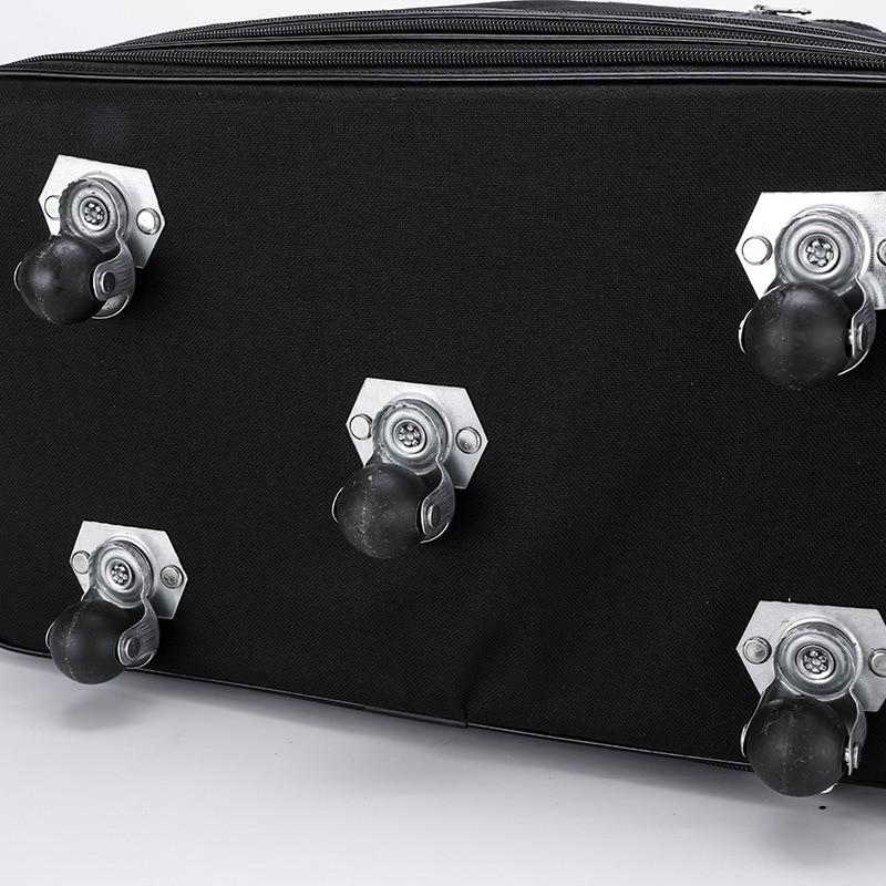 Large Capacity Spinner Luggage Waterproof Men Women Oxford Trolley Case Black Travel Bag 27 34 inch Rolling Luggage XA544F