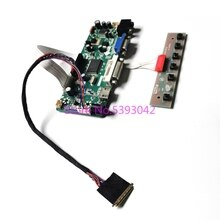 "Ajuste N173FGE-L12/L13/L21/L23/L63/LA3 W 1600*900 VGA HDMI DVI LVDS 40Pin 17,3 ""LCD panel M NT68676 pantalla Kit de placa controladora"
