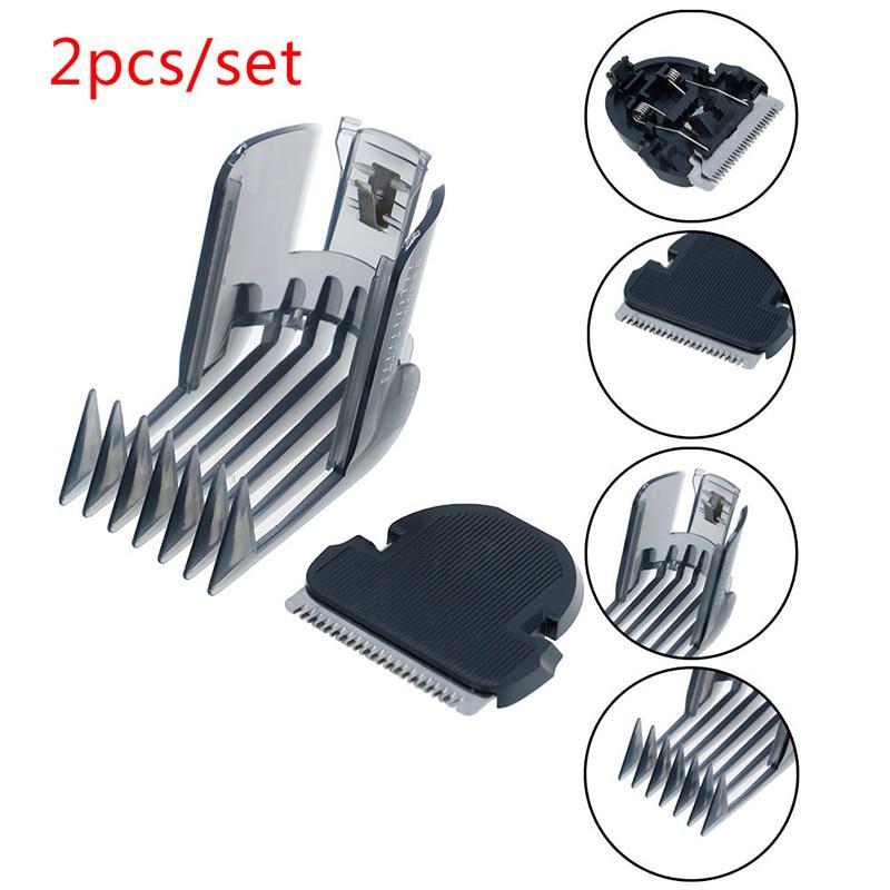 HOT 2pcs/set Hair Clipper Comb + Hair Trimmer Cutter Replacement For QC5105 QC5115 QC5155 QC5120