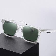 Polarized Sunglasses for Men Women Fashion TR90 Square Frame Classic Retro Rays Brand Designer Drivi