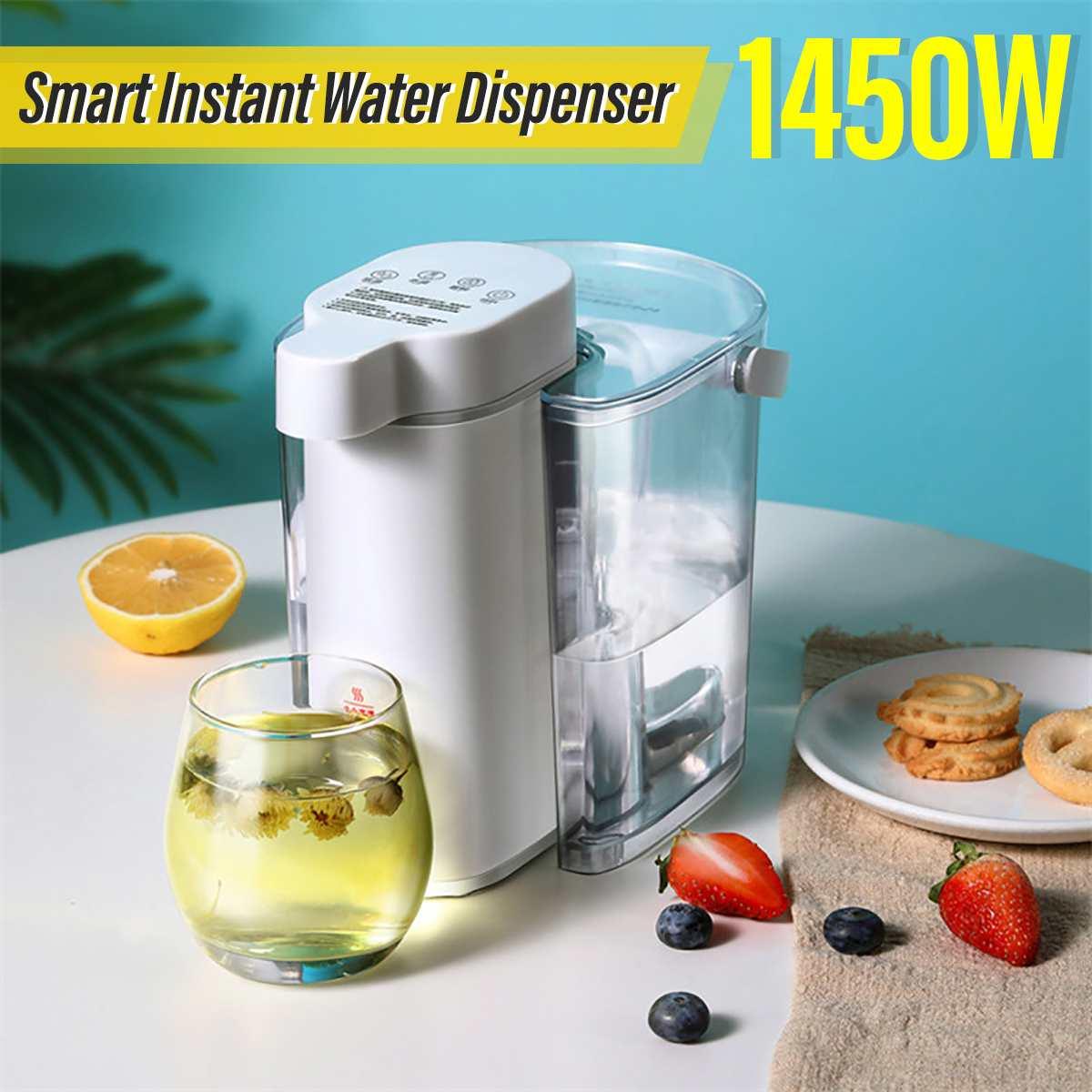الذكية الفورية المحمولة موزع مياه مضخة زجاجة التلقائي مضخة مياه الشرب 3S التدفئة غلاية مياه كهربائية صغيرة سخان