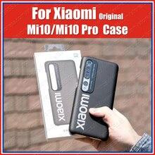 Top Geschlossen Mi10 Pro Offizielle Original Xiaomi Mi 10 Pro Fall Mi10 PC thin Zurück Abdeckung