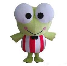Beau grand yeux grenouille mascotte Costume costumes Cosplay fête jeu robe tenues vêtements carnaval Halloween noël pâques adultes