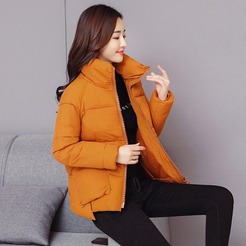 Timis li inverno jaqueta feminina casual sólido médio grosso quente parkas jaquetas de bolso feminino sintepon casacos de neve